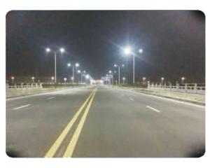 江苏省通州湾开发示范区月湾路改造后效果图