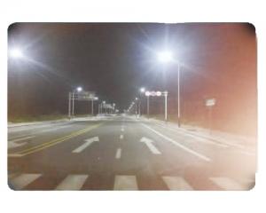 江苏省通州湾开发示范区学区路改造后效果图